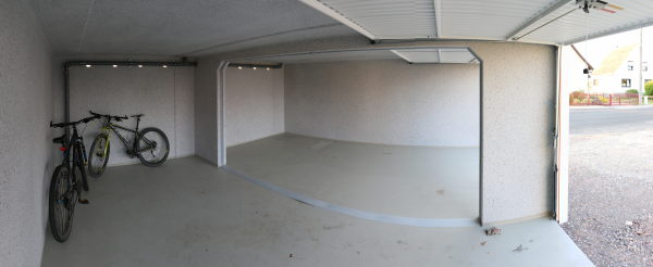 Panorama of the interior