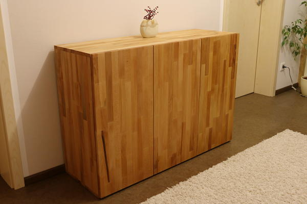 Beech wood cupboard